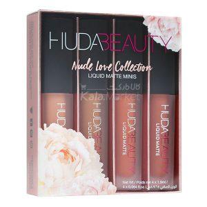 Kala-Market - nude love1 300x300 - پک 4 تایی رژ مایع مینی هدی بیوتی (HUDA BEAUTY Liquid Matte Minis Collection)