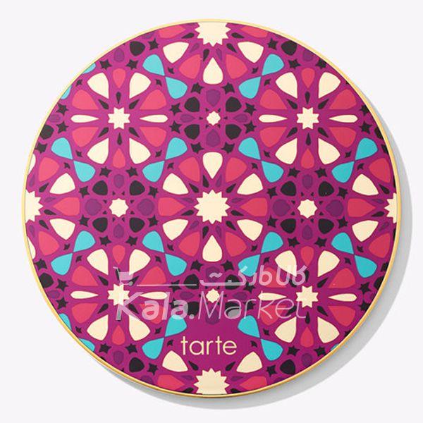 Kala Market-کالا مارکت- tarte blush5 1 - پالت رژگونه و هایلایتر 10 تایی تارت (TARTE Blush Bazaar Palette)