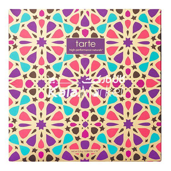 Kala Market-کالا مارکت- tarte blush6 - پالت رژگونه و هایلایتر 10 تایی تارت (TARTE Blush Bazaar Palette)