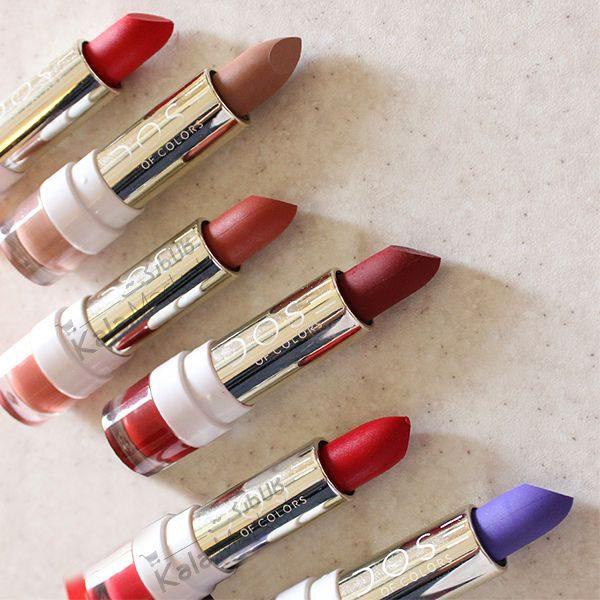 Kala Market-کالا مارکت- Dose Of Colors Lipstick Set6 600x600 - ست رژ جامد 6 تایی دز آو کالرز (Dose Of Colors Classic Lipstick 6 Colors)