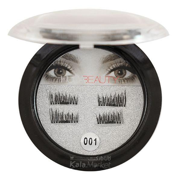 Kala-Market - Huda beauty magnet false lashes code 001 2 600x600 - مژه مگنتی هدی بیوتی (HUDA BEAUTY Magnet False Lashes)