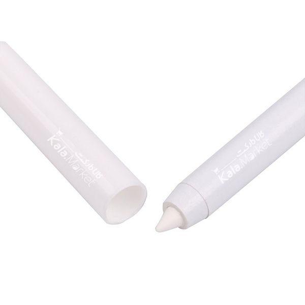 Kala-Market - Menow white eyeliner pencil2 600x600 - خط چشم مدادی سفید منو (Menow Water Resistant White Eyeliner Pencil)