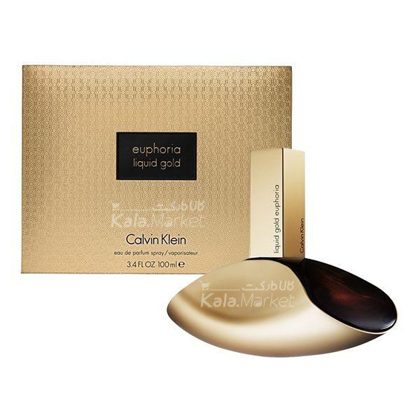 Kala Market-کالا مارکت- ck euphoria liquid gold2 600x600 - طرح اصلی ادو پرفيوم زنانه کلوين کلاين مدل Liquid Gold Euphoria
