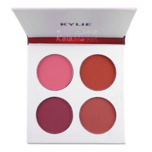 Kala-Market - kylie powder blush2 300x300 - پالت رژگونه 4 رنگ کایلی (KYLIE Powder Blush)