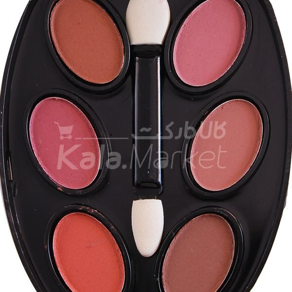 Kala-Market - mac makeup kit5 600x600 - پنکک و سایه 3 طبقه مک کد 2 (MAC Makeup Kit Code 2)