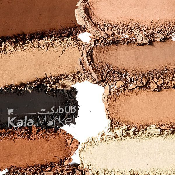 Kala-Market - tarte clay play face shaping palette3 600x600 - پالت سایه و کانتور و هایلایت مات تارت (TARTE Clay Play Face Shaping Palette)