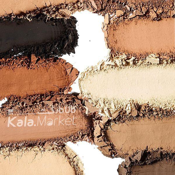 Kala-Market - tarte clay play face shaping palette4 600x600 - پالت سایه و کانتور و هایلایت مات تارت (TARTE Clay Play Face Shaping Palette)
