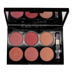 Kala-Market - GARINEER 6 Colors Matte Blush3 401 300x300 - رژگونه 6 تایی مات گارنیر (GARINEER 6 Colors Matte Blusher)