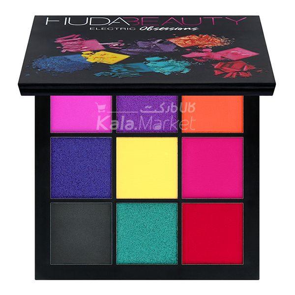 Kala-Market - Huda Beauty Obsessions Palette Electric1 600x600 - پالت سایه 9 تایی هدی بیوتی الکتریک (Huda Beauty Obsessions Palette Electric)