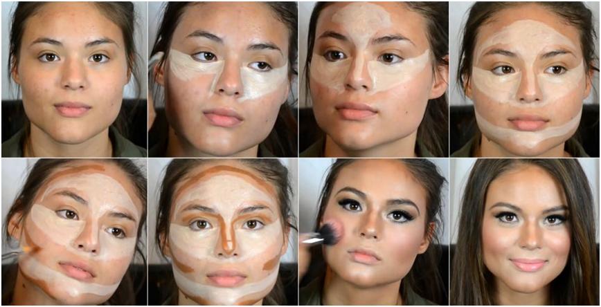Kala-Market-Untitled_9768e913-df61-4166-98f7-6dede22fb903-تکنیک های یک آرایش حرفه ای با کانتور و هایلایتر-آرایش و زیبایی آرایش و زیبایی صورت لوازم آرایش