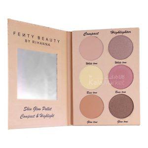 Kala Market-کالا مارکت- fenty beauty skin glow palette1 300x300 - پالت هایلایت و پنکک و رژگونه فنتی بیوتی (FENTY BEAUTY PRO Skin Glow Palette)