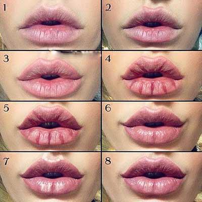 Kala-Market-Contouring-Lips-Kala-Market-Pics-2-زیبایی فوق العاده لب ها با روش های مختلف کانتورینگ لب-آرایش و زیبایی آرایش و زیبایی صورت لوازم آرایش