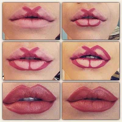 Kala-Market-Contouring-Lips-Kala-Market-Pics-6-زیبایی فوق العاده لب ها با روش های مختلف کانتورینگ لب-آرایش و زیبایی آرایش و زیبایی صورت لوازم آرایش