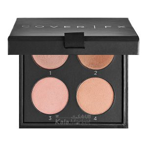Kala-Market - cover fx perfect light highlighting palette 1 300x300 - پالت هایلایتر پودری و کرمی کاور اف ایکس (COVER FX Perfect Light Highlighting Palette)