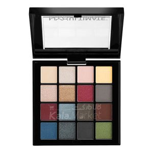 Kala-Market - nyx ultimate smokey1 300x300 - پالت سایه نیکس رنگهای اسموکی و هایلایت (NYX Ultimate Shadow Palette Smokey & Highlight)