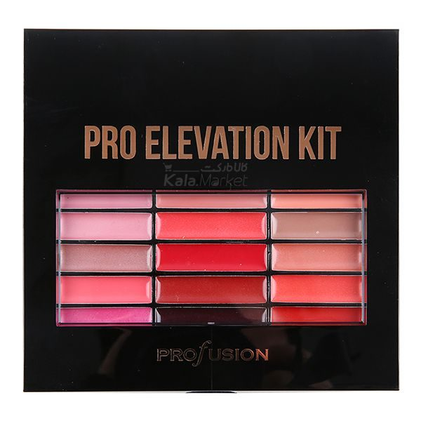 Kala-Market - profusion pro elevation kit7 600x600 - ست کامل آرایشی پروفیوژن (PROFUSION Pro Elevation Kit)