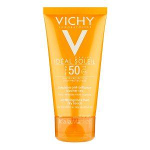 Kala-Market - VICHY Ideal Soleil Mattifying1 1 300x300 - کرم ضد آفتاب ویشی مدل درای تاچ (VICHY Ideal Soleil Mattifying Face Fluid Dry Touch SPF 50)
