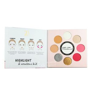Kala-Market - zd highlight contour kit1 300x300 - پالت هایلایتر و کانتور زد دی (ZD Highlight & Contour Kit)