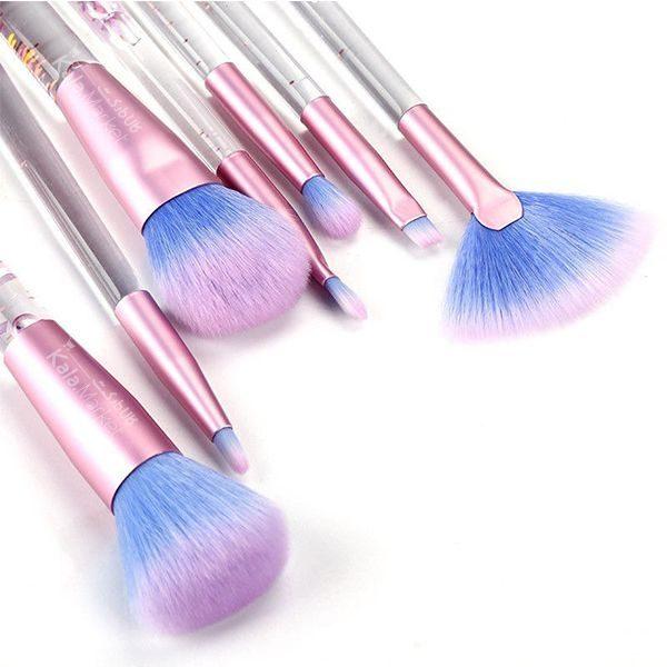 Kala Market-کالا مارکت- Aquarium Liquid Glitter Makeup Brush2 600x600 - ست براش آکواریومی کیفی (AQUARIUM Liquid Glitter Makeup Brush Set)