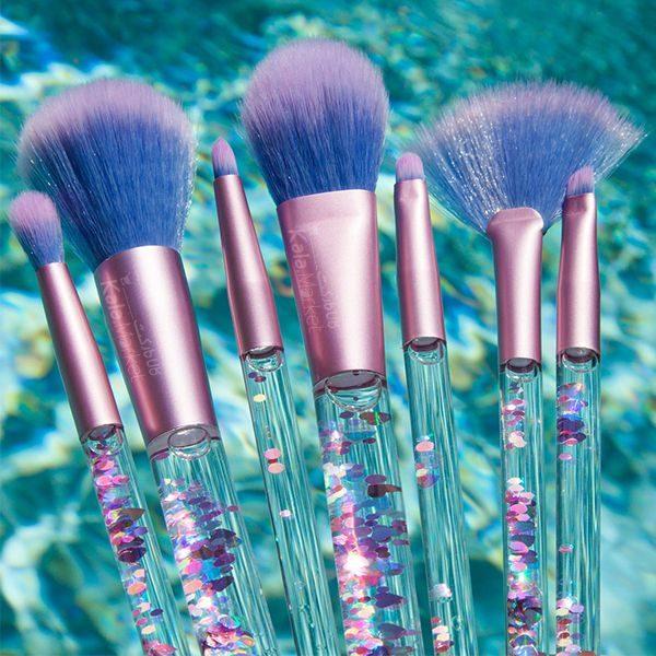 Kala Market-کالا مارکت- Aquarium Liquid Glitter Makeup Brush3 600x600 - ست براش آکواریومی کیفی (AQUARIUM Liquid Glitter Makeup Brush Set)