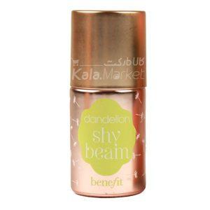 Kala-Market - benefit dandelion shy beam liquid highlighter1 300x300 - هایلایتر لاکی بنفیت رنگ شای بیم (BENEFIT Shy Beam Liquid Highlighter)