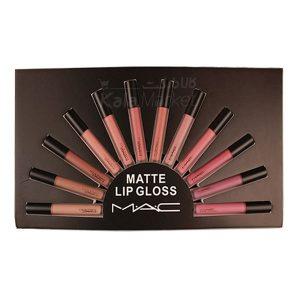 Kala Market-کالا مارکت- mac liquid lipstick1 300x300 - پک رژ مایع 12 عددی مات مک (MAC Matte Lip Gloss Look In A Box)