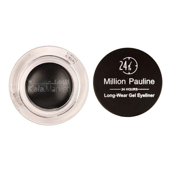 Kala-Market - MILLION PAULINE Gel Eyeliner2 600x600 - ژل ابرو و خط چشم ژله ای میلیون پائولین (MILLION PAULINE Gel Eyeliner)