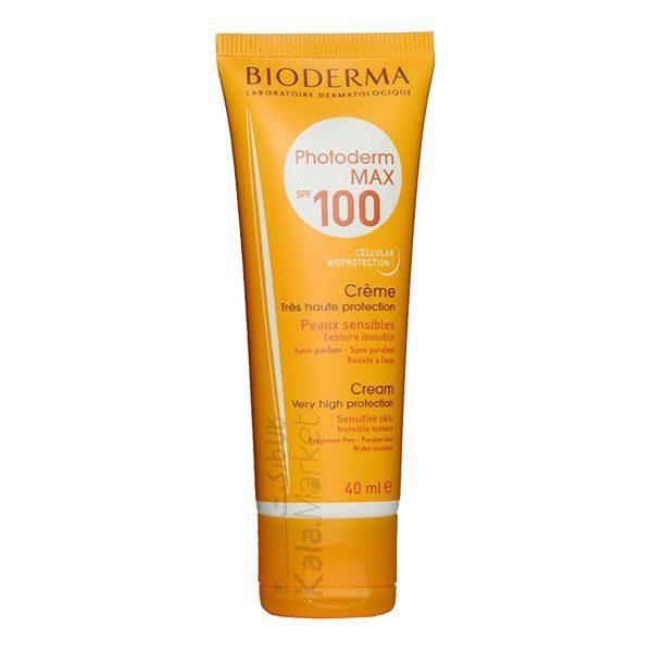 Kala-Market - bioderam photoderm max1 600x600 - کرم ضد آفتاب بیودرما رنگی (BIODERMA Photoderm Max Fluid SPF 100)