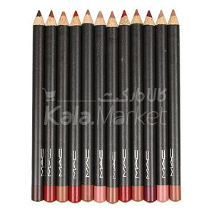 Kala-Market - mac lip liner B1 300x300 - ست خط لب و خط چشم مک کد 2 (MAC Eyeliner & Lipliner Pencils Set Code B)