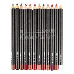Kala Market-کالا مارکت- mac lip liner c1 300x300 - ست خط لب و خط چشم مک کد 3 (MAC Eyeliner & Lipliner Pencils Set Code C)