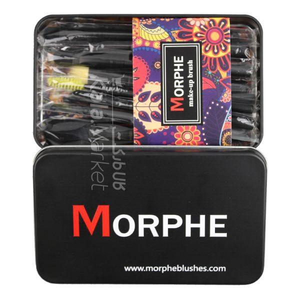 Kala Market-کالا مارکت- morphe brush set2 600x600 - ست براش 12 عددی جعبه ای مورف (MORPHE Brush Set)