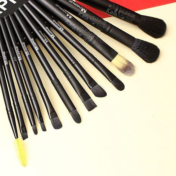 Kala Market-کالا مارکت- morphe brush set2 2 600x600 - ست براش 12 عددی جعبه ای مورف (MORPHE Brush Set)