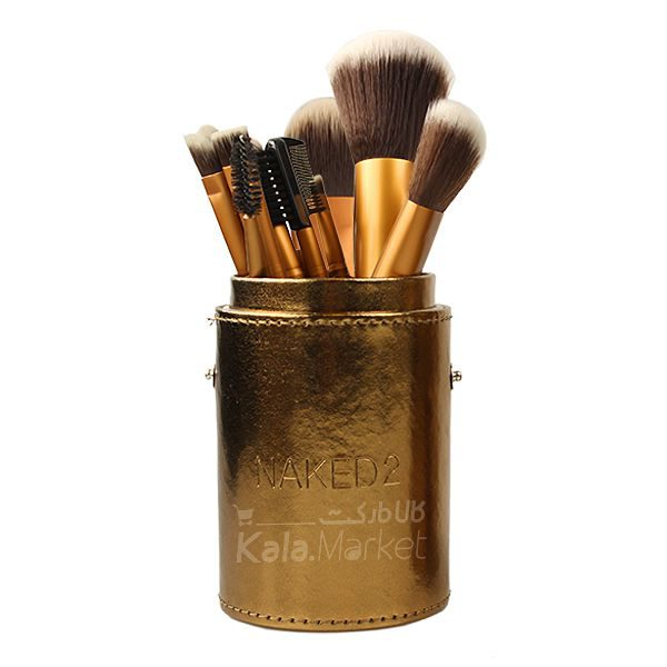 Kala-Market - oval stand1 second0 600x600 - ست براش استوانه ای 12 عددی نیکد (N.A.K.E.D Cylinder Brush Case 12 Pcs)