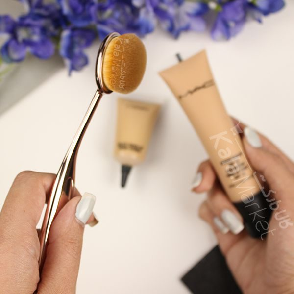 Kala Market-کالا مارکت- real technique foundation brush6 600x600 - براش مسواکی ریل تکنیک (REAL TECHNIQUES Foundation Brush)