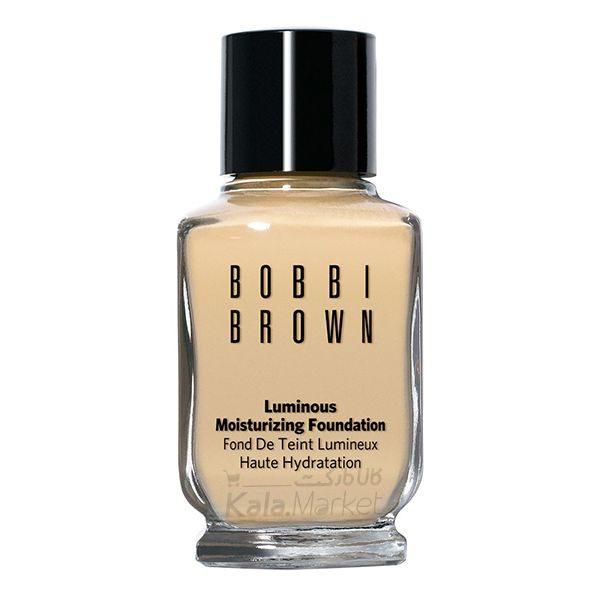 Kala Market-کالا مارکت- bobbi brown luminous foundation1 600x600 - کرم پودر بابی براون مدل لومینوس (BOBBI BROWN Luminous Moistrizing Foundation)