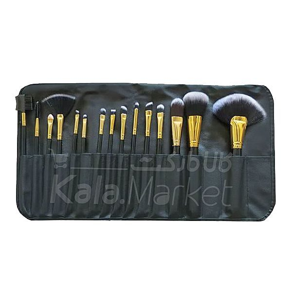 Kala Market-کالا مارکت- zone 34015 pcs set1 600x600 - ست ۱۵ عددی براش آرایشی ۳۴۰ زد وان (Z.ONE Brush Set 15 Pcs)