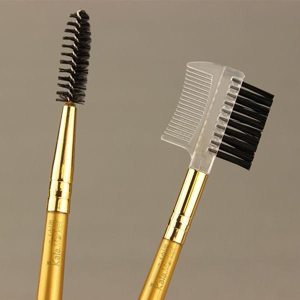 Kala Market-کالا مارکت- kylie face eyes brush set3 600x600 - پک براش حرفه ای کایلی 10 عددی (KYLIE Perfect Foundation Makeup Brush)