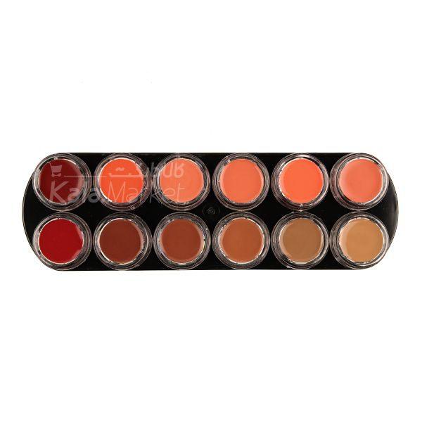 Kala Market-کالا مارکت- mac lip rouge1 2 600x600 - پالت رژ لب مک کد 2 (MAC Lip Rouge Palette)