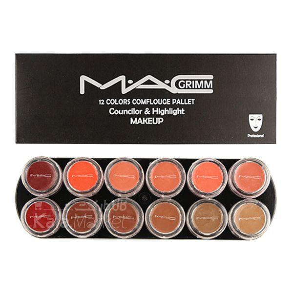 Kala Market-کالا مارکت- mac lip rouge3 600x600 - پالت رژ لب مک کد 2 (MAC Lip Rouge Palette)