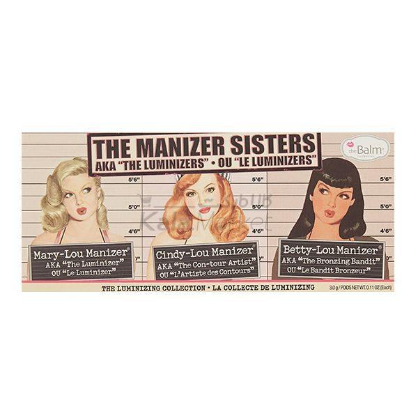Kala Market-کالا مارکت- the balm manizer sisters3 600x600 - پالت هایلایتر دبالم (THE BALM The Manizer Sisters)