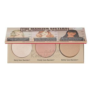 Kala Market-کالا مارکت- the balm the manizer second edit1 300x300 - پالت هایلایتر دبالم (THE BALM The Manizer Sisters)