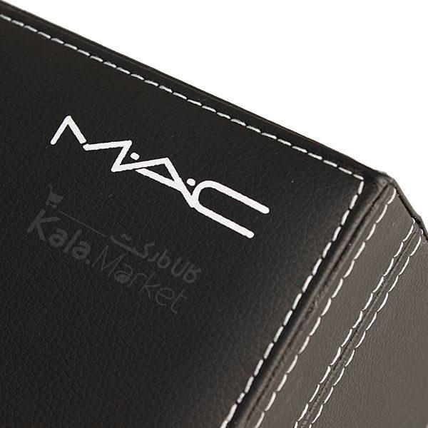Kala Market-کالا مارکت- mac black cosmetics box7 1 600x600 - باکس لوازم آرایش 2 طبقه مک (MAC Black Cosmetic Box)