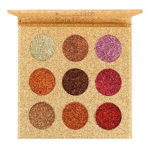 Kala Market-کالا مارکت- rose berry glitter palette1 300x300 - پالت سایه گلیتر 9 رنگ رز بری (ROSE BERRY Eyeshadow Beauty Glitter Palette)
