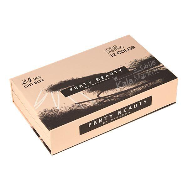 Kala Market-کالا مارکت- fenty beauty 24 pcs gifi box14 600x600 - ست رژ جامد و مایع 24 تایی فنتی بیوتی (FENTY BEAUTY 24 Pcs Gifi Box)